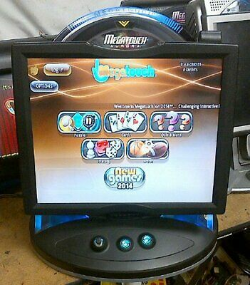 "Megatouch AURORA w/2014 Games 19"" Reconditioned w/New Parts TechSupport WARRANTY"