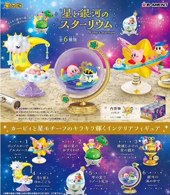 Kirby Super Star Mini Figure Kirby's Starrium All 6 set Japan import NEW Re-ment