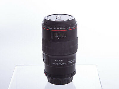 Canon EF 100mm f/2.8L IS USM Macro Camera Lens, good condition
