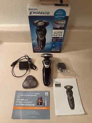 Philips Norelco Shaver 5550 with Turbo+ Mode Rechargeable Wet/Dry (S5590/81)