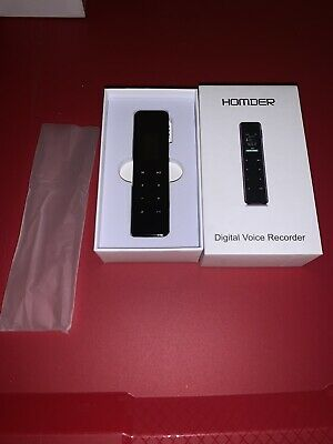 Digital Voice Recorder, Homder 16G Touch Screen Voice Activated Recorder