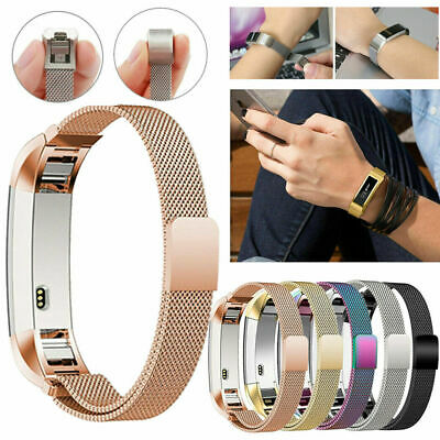 For Fitbit Charge 2 Band Milanese Loop Metal Stainless Steel Wristband Strap