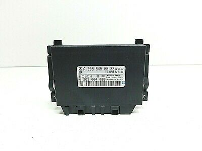 2004 Mercedes Clk W209 Pdc Parking Distance Control Module Ecu A2095450032