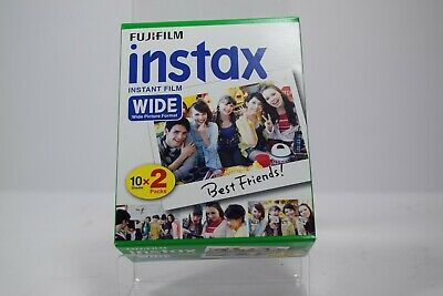 Fujifilm Instax Wide Instant Film 20 sheets - Use Before Date 01-2017