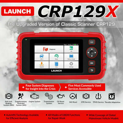 LAUNCH CR6011 Auto Diagnostic Tool OBD2 Code Reader Scanner ABS Airbag As AL619