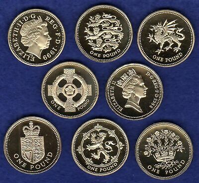 Great Britain, Proof £1, One Pound Coin, Choice of Year, Choose Your Date