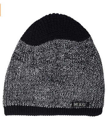 Maximo Baby Boy Knitted Winter Hat Covers Ears Strings Attached Assorted Colors