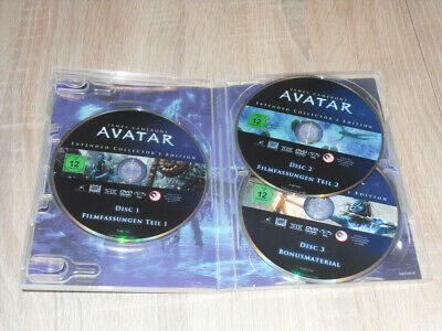 Avatar (Extended Collectors Edition ) 3 DVD Box