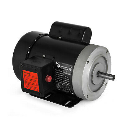 """1//2 HP Electric Motor 1 ph 1750rpm 5//8""""shaft keyed shaft agricultural Waterproof"""