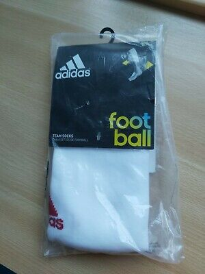 Adidas adisock 12 3 stripes football socks size 8 1/2 - 10