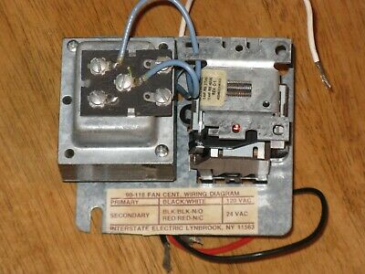 White-Rodgers 90-118 Fan Control Center Transformer With Relay