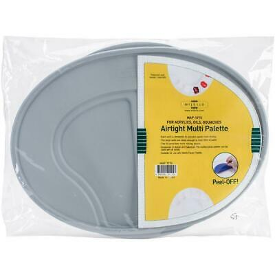 Mijello - Airtight Multi Palette - Large Oval Palette with Lid 10x14 - NEW!