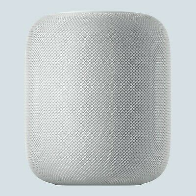 Apple HomePod Voice Enabled Smart Assistant - White (MQHV2LL/A)