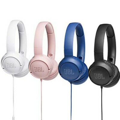 JBL TUNE 500 Wired On-Ear Foldable Headphones - Direct from JBL - Multiple Color