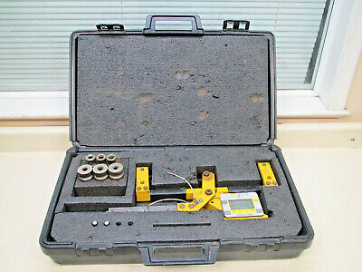 Dillon Quick Check 10,000 lb/f Capacity Cable / Wire Tension Meter w/ Case Used