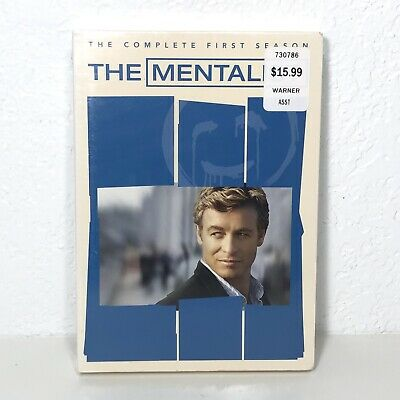 BRAND NEW! FACTORY SEALED! The Mentalist: The Complete First Season DVD