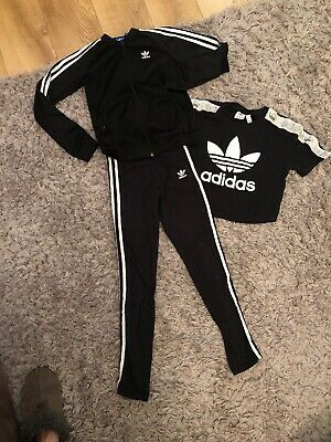 @LOOK@ Adidas Leggings, T'shirt And Jacket Age 11 To 12
