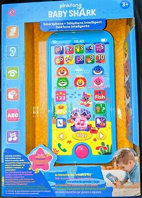 WowWee Pinkfong Baby Shark Smartphone - Preschool Educational Toy - New - Kids