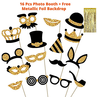 HOLLYWOOD Movie Magic Show Circus Party Photo Booth RED CURTAIN BACKDROP Prop