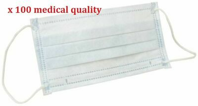 Medical Quality Face Mask 3 Ply Good Protection #100