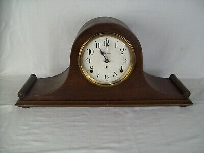 Antique ~ Seth Thomas ~ Key Wind Pendulum Movement Mantle / Shelf Clock ~ Works