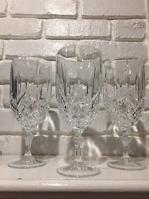 Marquis By Waterford Markham Crystal Set Of 3 Iced Beverage Glasses