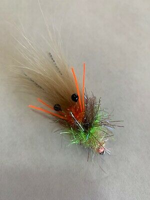 Fly Fishing Flies Tinsel Town Fly Redfish, Trout, Flounder, Bass, Snook x 6