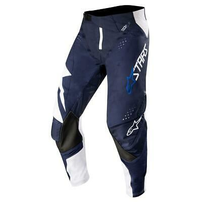 Alpinestars Cross Hose Techstar Factory - Weiß/ Dark Navy