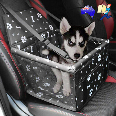 Pet Car Booster Seat Puppy Dog Cat Auto Carrier Travel Protector Safety Basket