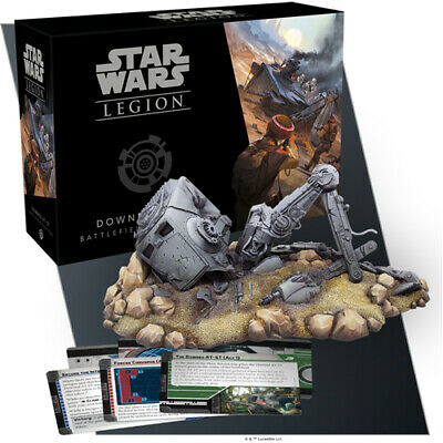 Star Wars Legion: Downed AT-ST Battlefield Expansion - Brand New & Sealed
