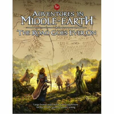 Adventures in Middle-Earth: The Road Goes Ever On - Brand New & Sealed