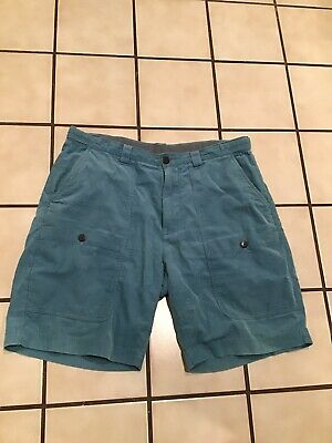 Penfield Corduroy Cargo Outdoor Mens Chino Golf Casual Shorts Sz. 36