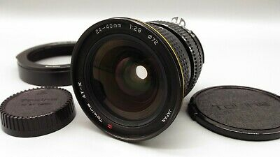 * AS IS * Tokina AT-X 24-40mm F2.8 Wide Angle Zoom Lens for Nikon F Mount