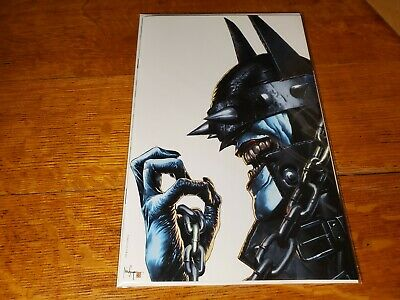 Batman Who Laughs 1 Mico Suayan Unknown C Virgin Variant Nm