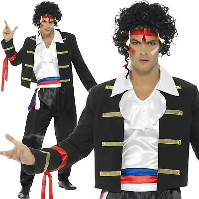 Handsome Royal Prince Charming William Toy Soldier Mens Fancy Dress Costume New