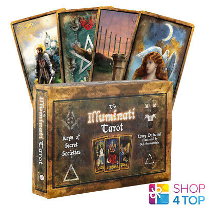 Illuminati Tarot Cards Deck Book Set Schiffer Publishing Duhamel Esoteric New