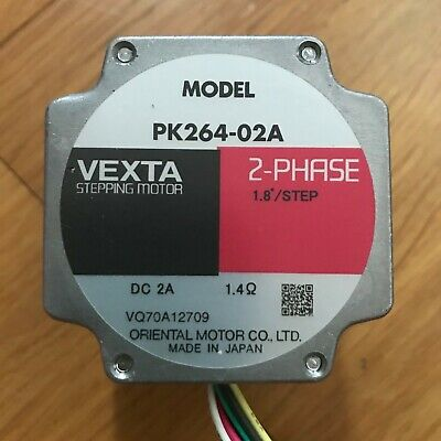 VEXTA PK264-02A Stepper Stepping Motor 2 Phase Oriental Motor Japan