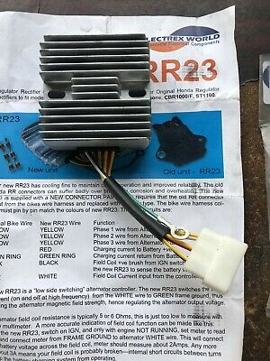 RR23 Regulator and Rectifier Replacement  For Honda CB CBR ST NIGHTHAWK