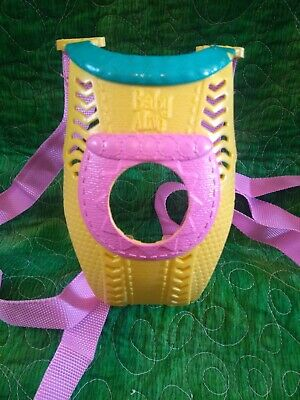 Baby Alive Go Bye Bye Replacement Baby Doll Carrier Yellow Teal And Pink
