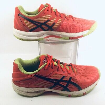 Asics Girls Gel Solution Speed 3 Tennis Shoes Sneakers Pink C606Y 5.5