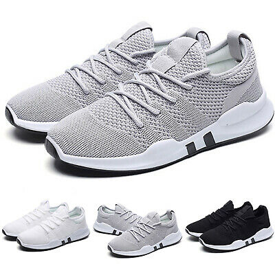 Men Lady Trainers Sports Shoes Fitness Mesh Gym Walk Sneakers Running Shoes