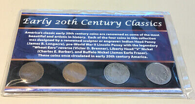 Early 20Th Century Classics American Coins 4 Coins