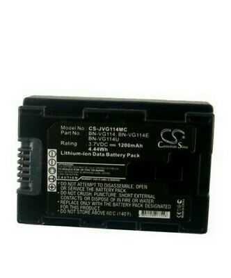 Replacement Battery For JVC BN-VG114