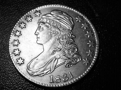 1831 CAPPED BUST HALF DOLLAR (You Judge!!) #2104