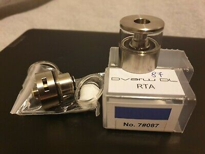 Vape tank & deck NEW Dvarw DL  & Glass Tank 3.5ml 100% Genuine & New High end