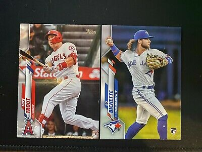 2020 Topps Series 1 Base and Rookie Cards #1-175 You Pick/Choose