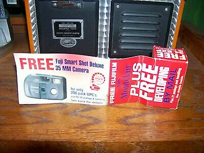 Vintage FUJI FUJIFILM FILM 24 Exp 35 MM, Montclair Cigarette Promotional Item