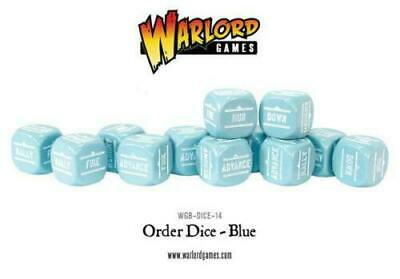 Bolt Action Order Dice Blue New - WGB-DICE-14