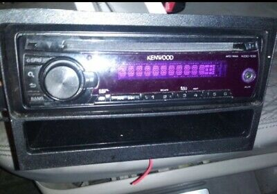 faceplate kdc-138 kenwood aux tested!! working 100!!
