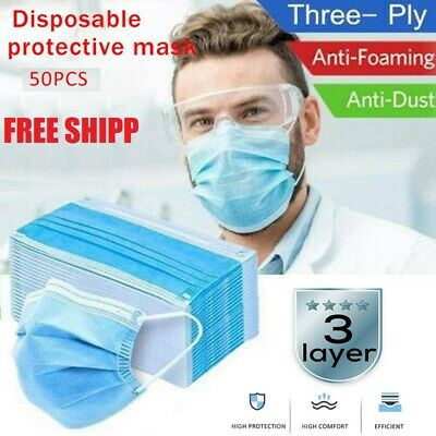 Disposable Anti-Infection Mask-Medical Mask- Protection 98% - 1 pack (50 pieces)